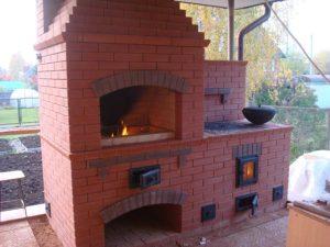 Кухонный печной комплекс